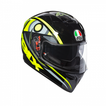 CASCO AGV K-3 SV TOP SOLUNA 46